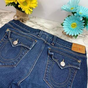 True Religion Semi Distressed Jeans
